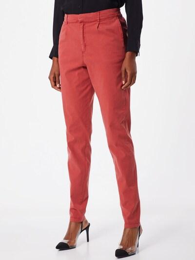 Kelnės 'BROOKLYN NR' iš Noisy may , spalva - oranžinė-raudona: Vaizdas iš priekio