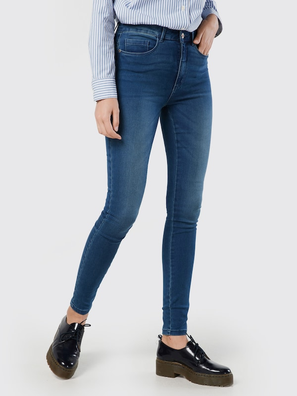 ONLY Skinnyjeans 'Royal High Skinny' in blau, Modelansicht