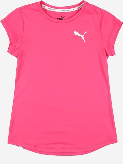PUMA Sport-Shirt in pink / weiß, Produktansicht