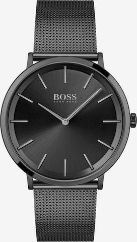 BOSS Casual Uhr in Schwarz