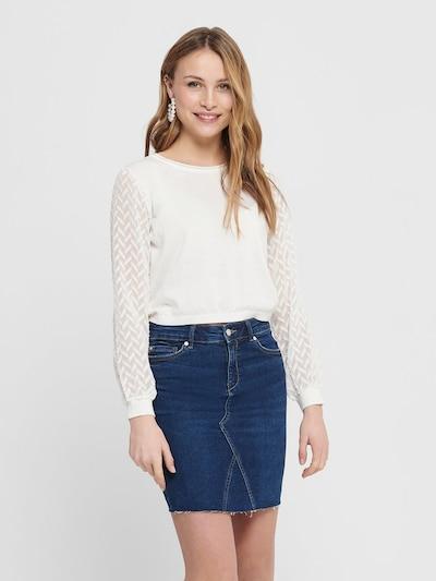 ONLY Strickpullover in weiß, Modelansicht