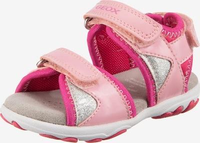 GEOX Sandale in pink, Produktansicht