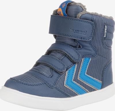 Hummel Stiefel in taubenblau / himmelblau / weiß, Produktansicht