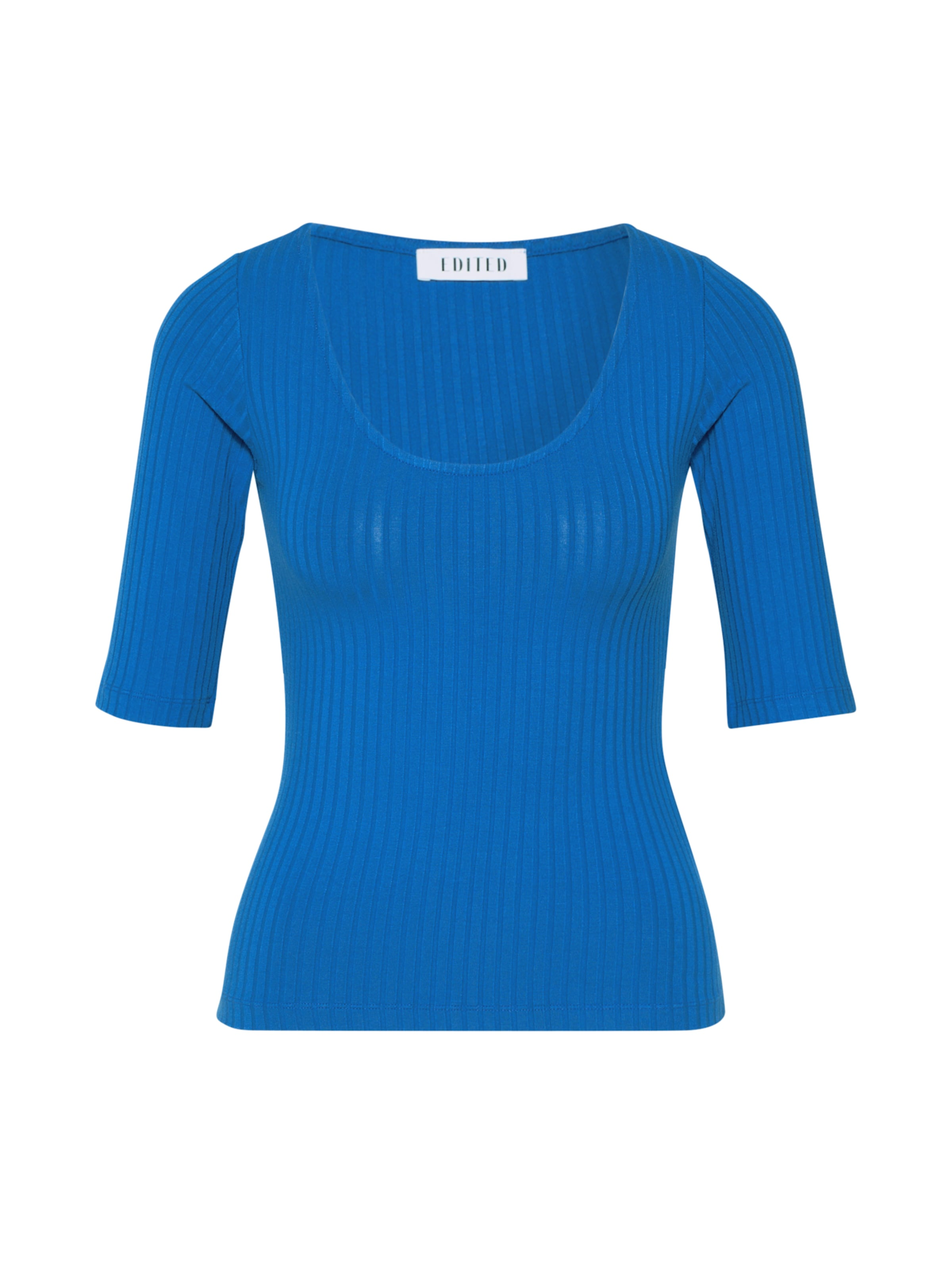 EDITED Póló 'Fray' kék színben