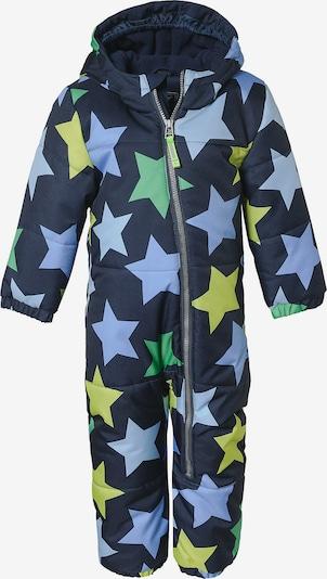 myToys-COLLECTION Anzug in nachtblau / hellblau / gelb / hellgrün, Produktansicht