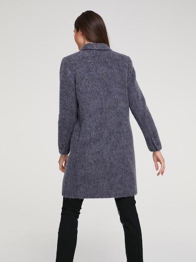 Rudeninis-žieminis paltas iš heine , spalva - pilka: Vaizdas iš galinės pusės