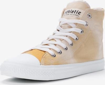 Ethletic Sneaker 'Fair Trainer' in gelb / weiß, Produktansicht