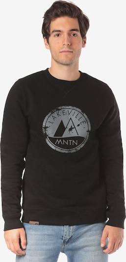 Lakeville Mountain Sweatshirt 'Milo Logo ' in schwarz, Produktansicht
