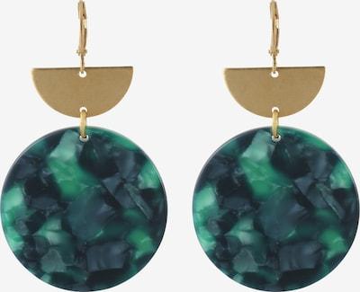 Fräulein Wunder Ohrhänger 'Amal' in grün, Produktansicht