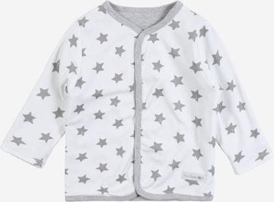 STACCATO Pletená bunda - šedá / bílá, Produkt