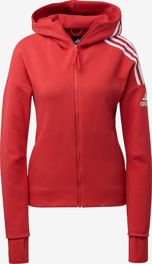 ADIDAS PERFORMANCE Sweatjacke in rot, Produktansicht