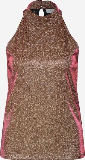 VILA Top in braun / bronze / pink, Produktansicht