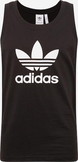ADIDAS ORIGINALS Majica u crna / bijela, Pregled proizvoda