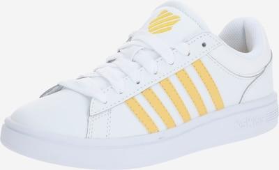 K-SWISS Sneaker 'Court Winston' in gelb / weiß, Produktansicht