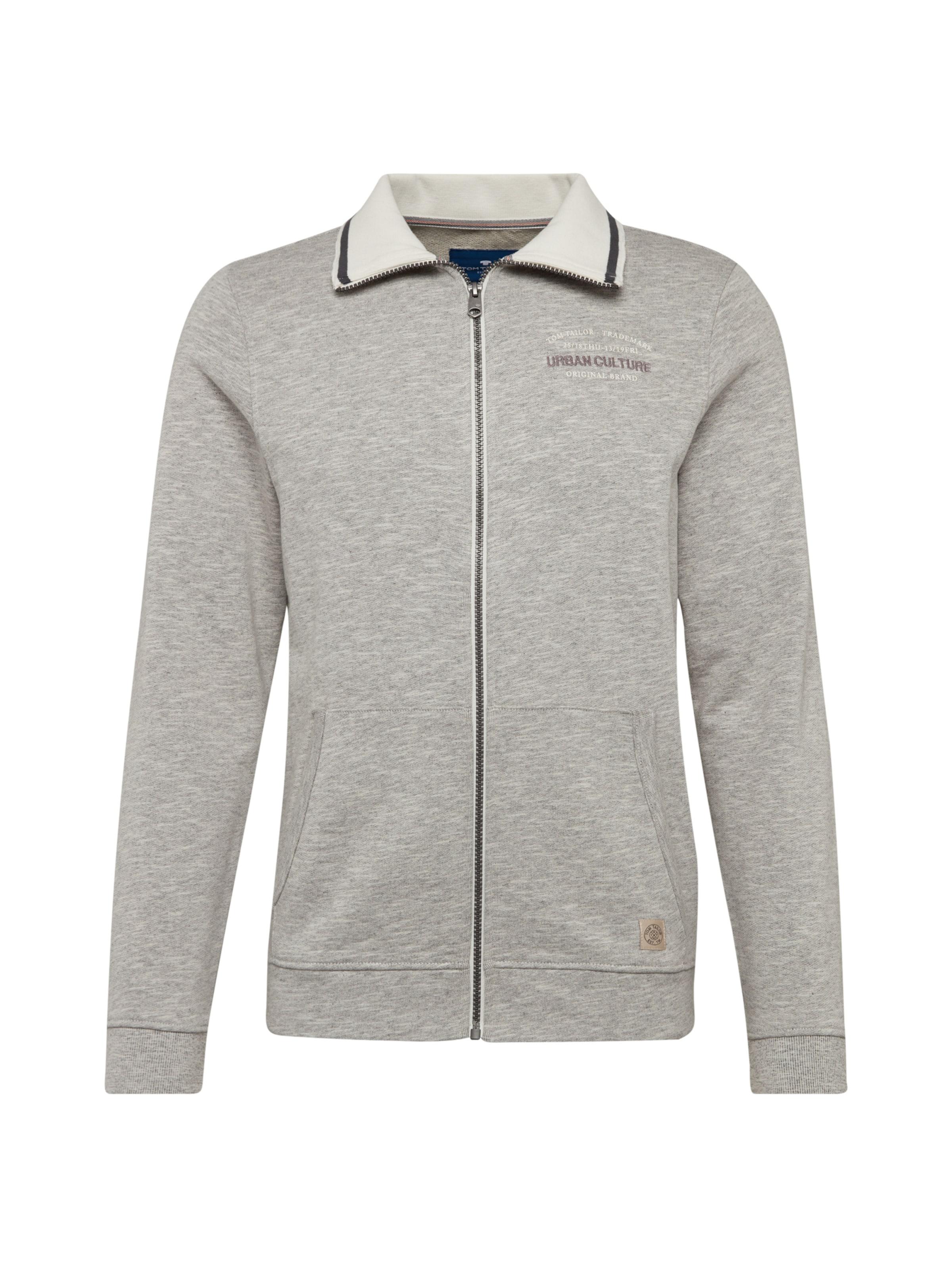 Sweatjacke Tailor In Grau Tom eErxWBdCQo