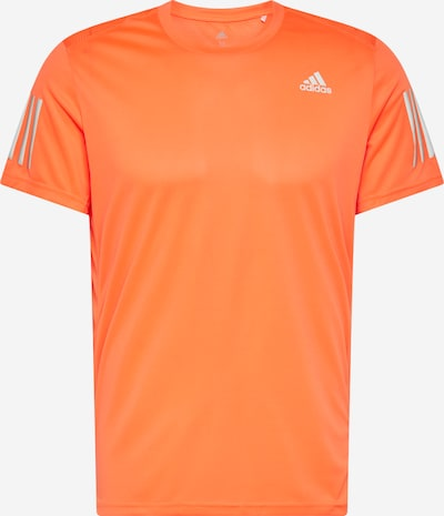 ADIDAS PERFORMANCE T-Shirt fonctionnel 'Own The Run' en gris / orange / blanc, Vue avec produit
