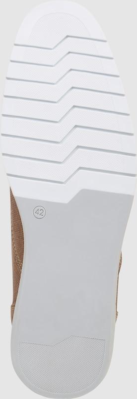BULLBOXER Schnürschuhe aus Struktur-Leder