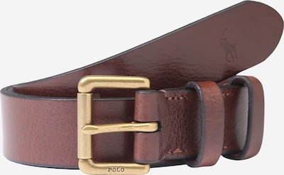 POLO RALPH LAUREN Gürtel 'SMOOTH LEATHER-OFFC PLQ RLR-CSL-SML' in braun, Produktansicht