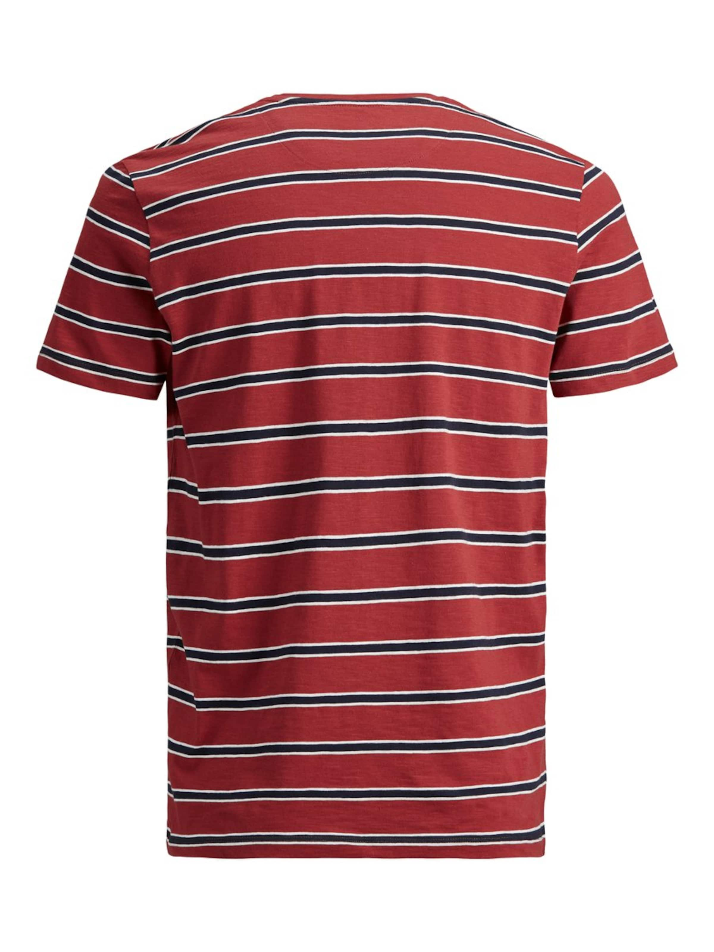 Jones In RotSchwarz shirt T Weiß Jackamp; PnOk0w