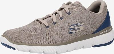 SKECHERS Sneaker in blau / taupe, Produktansicht