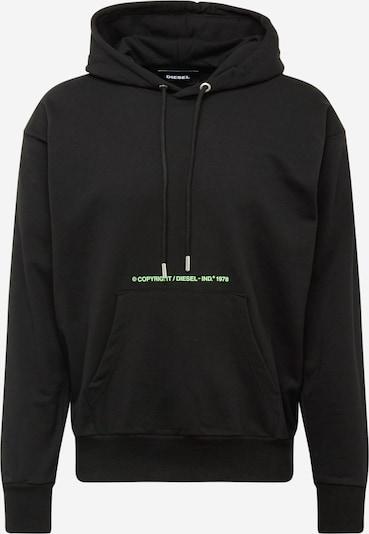 DIESEL Sweat-shirt 'S-Alby-S2' en bleu / vert / rouge / noir / blanc, Vue avec produit