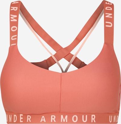UNDER ARMOUR Sport-BH 'Wordmark Strappy Sportlette' in orange, Produktansicht