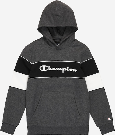 Champion Authentic Athletic Apparel Sweatshirt in graumeliert / schwarz / weiß, Produktansicht