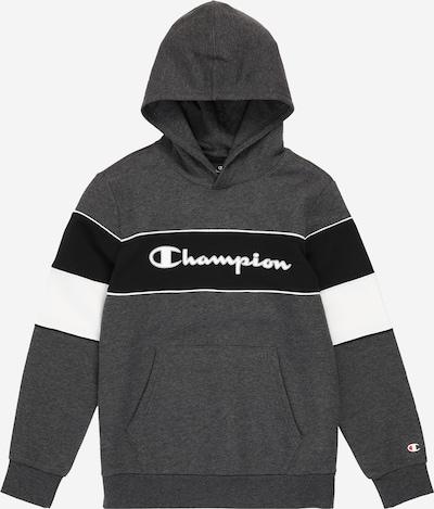 Champion Authentic Athletic Apparel Mikina - šedý melír / černá / bílá: Pohled zepředu