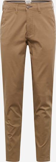 SELECTED HOMME Pantalon chino en noisette, Vue avec produit