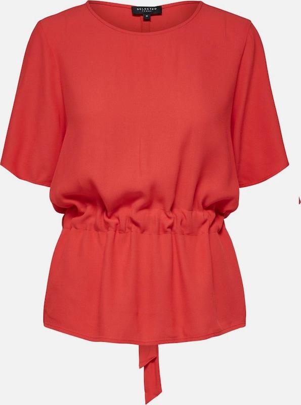 SELECTED FEMME Tunika 'Sftanna' in rot  Markenkleidung für Männer und Frauen