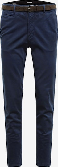 JACK & JONES Chino 'JJIROY JJJAMES' in de kleur Navy: Vooraanzicht