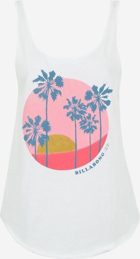 BILLABONG Sporta tērpa augšdaļa pieejami zils / rožkrāsas / balts, Preces skats