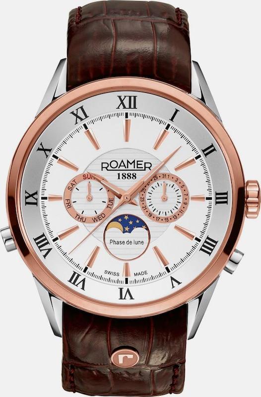 Roamer Schweizer Uhr 'SUPERIOR MOONPHASE, 508821 49 13 05'