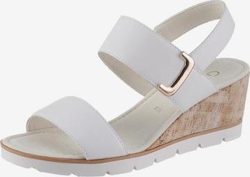 GABOR Sandalette in Weiß