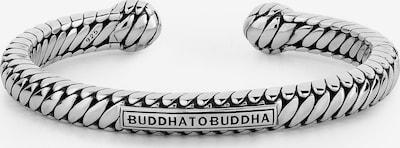 Buddha to Buddha Armreif in silber, Produktansicht
