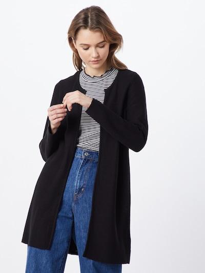 ONLY Strickjacke 'CLARA' in schwarz, Modelansicht