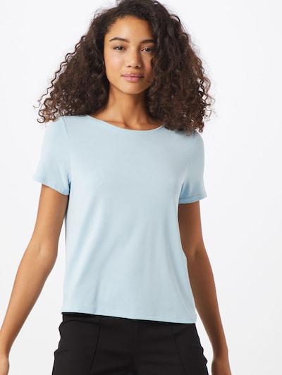 ONLY Shirt 'Free Life' in de kleur Lichtblauw: Vooraanzicht