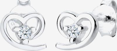 Diamore Boucles d'oreilles en argent, Vue avec produit