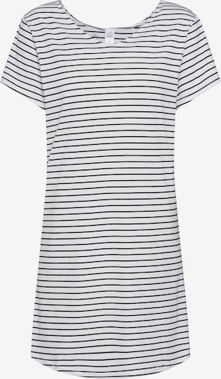 Skiny Schlafshirt in mischfarben / weiß, Produktansicht