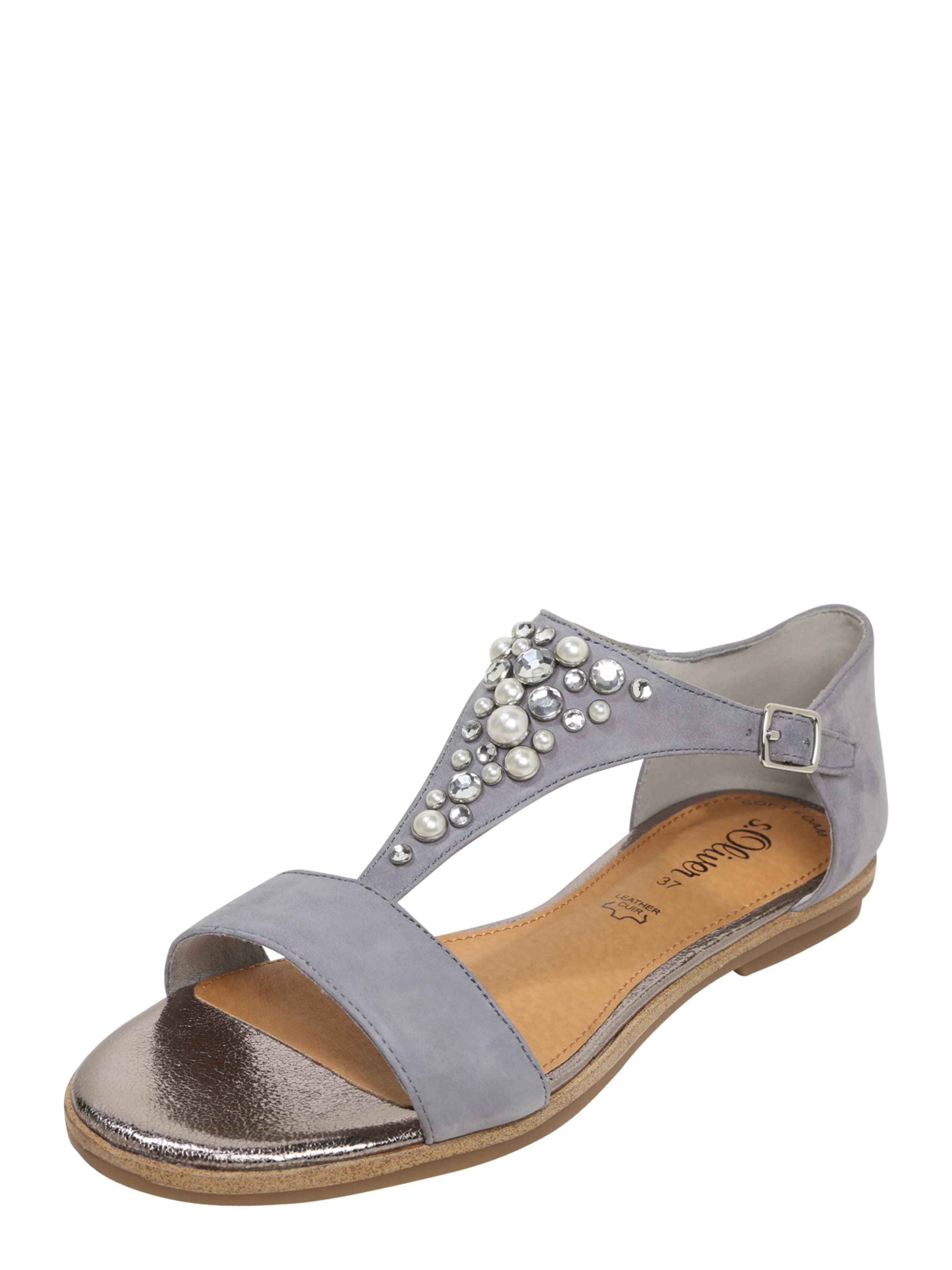 S.oliver « Confortable » Noir Sandale Étiquette Rouge Inur90fLjA
