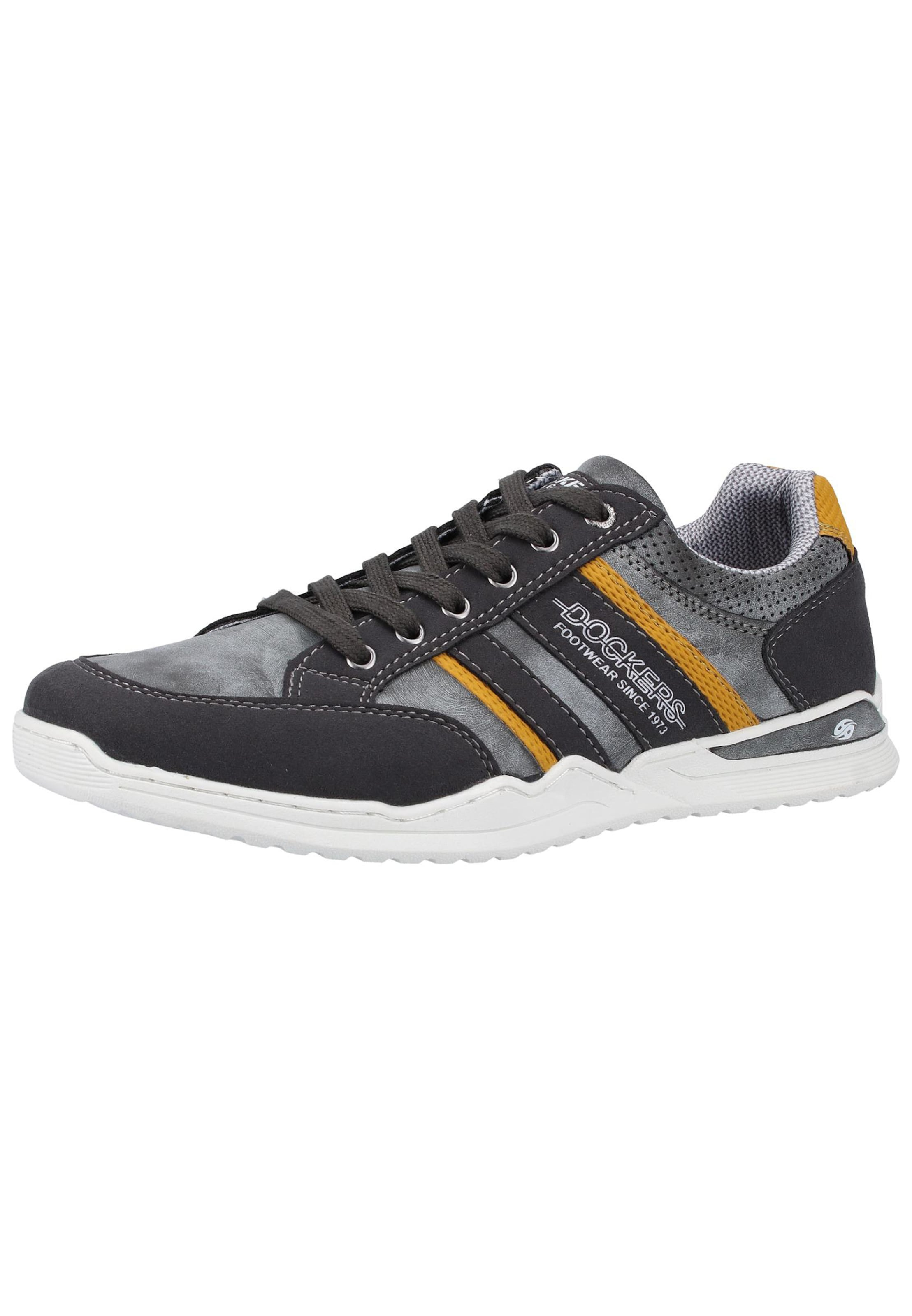 GoldgelbGrau Anthrazit Dockers Gerli By In Sneaker xoBCde
