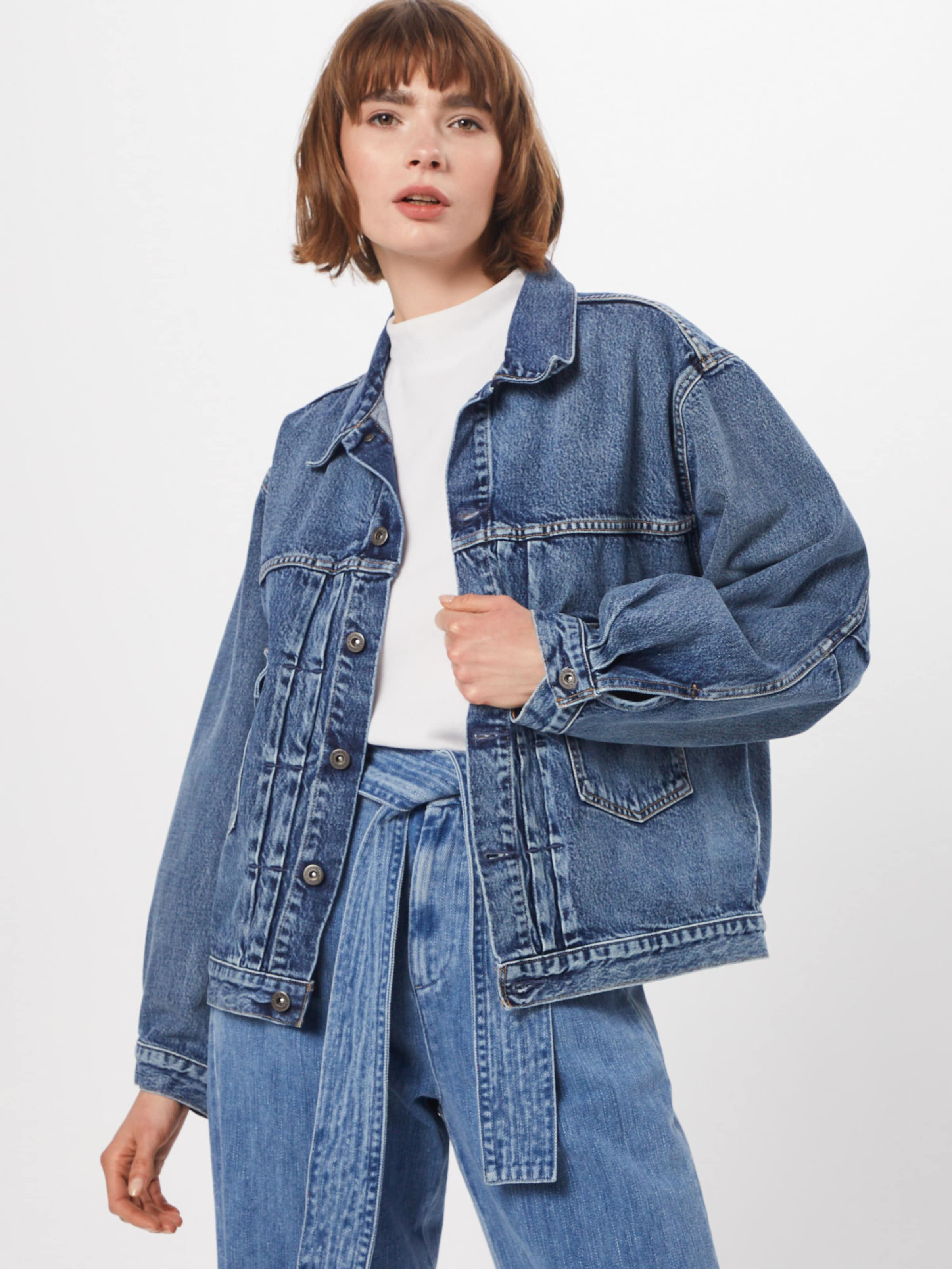 Jeansjacke In Crafted Levi's Letter Trucker' Madeamp; 'love Blue Denim NwnO0PkX8