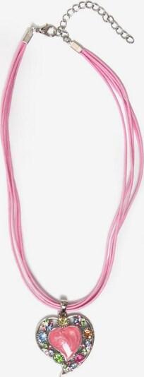 COLLEZIONE ALESSANDRO Kette 'C1978-F14' in rosa / silber, Produktansicht