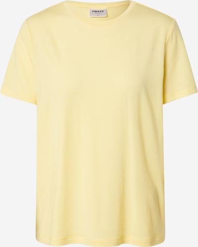 VERO MODA T-shirt en jaune, Vue avec produit
