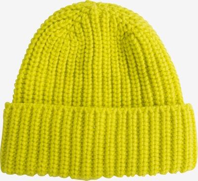 EDITED Bonnet 'Grethe' en jaune, Vue avec produit