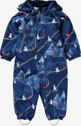 Reima Schneeanzug 'Luosto' in blau / nachtblau / mischfarben, Produktansicht