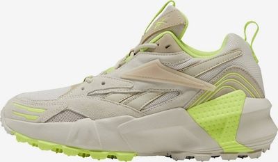 Reebok Classic Sneakers laag in de kleur Camel / Neongroen, Productweergave