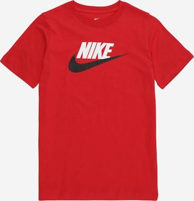 Nike Sportswear Majica | rdeča barva, Prikaz izdelka