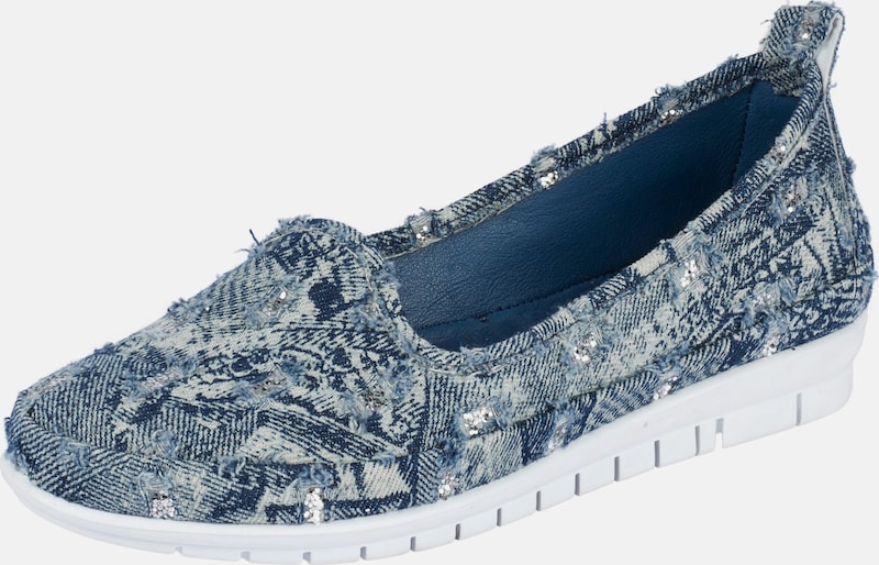 ANDREA CONTI Slipper im Denim-Look