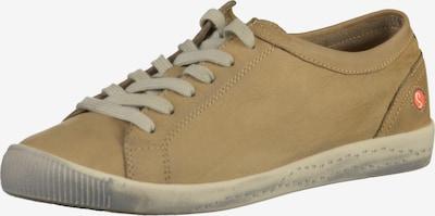 Softinos Baskets basses en beige, Vue avec produit